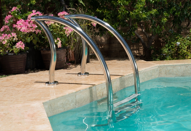 Jacuzzi Pool Ladder Inter-fab Designer Series 3 Step Ladder |dr-l3065s