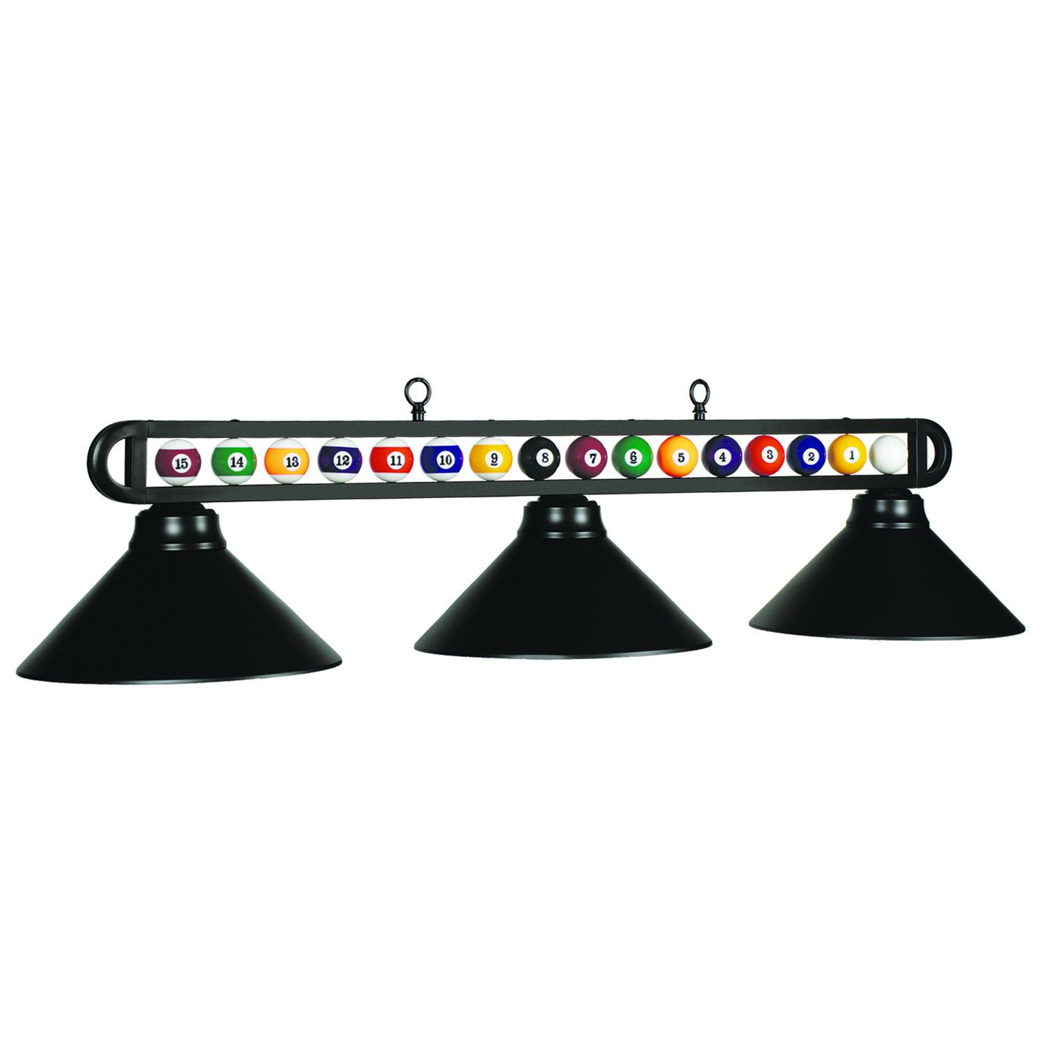 Lampe Billard Billiard Balls Three Light Shade