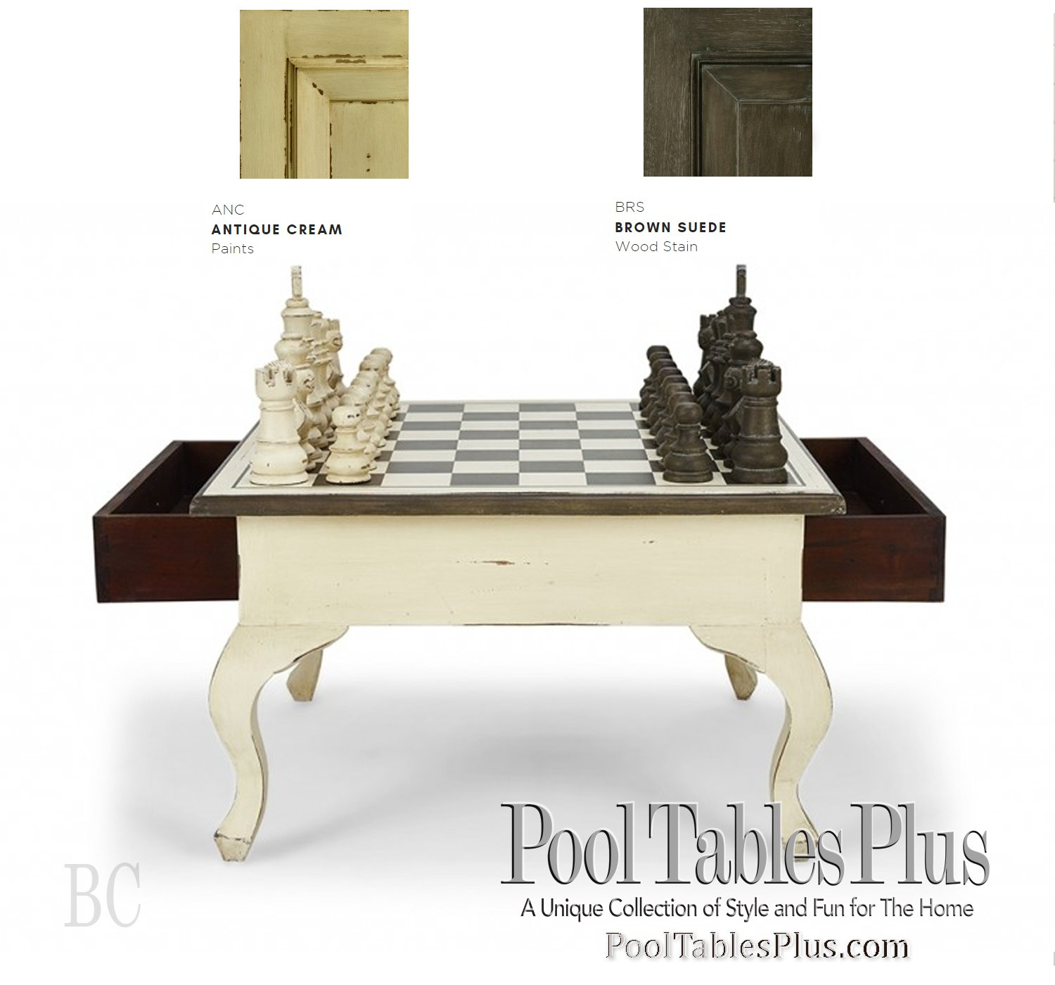 Chess Table Chess Table Queen Anne Legs