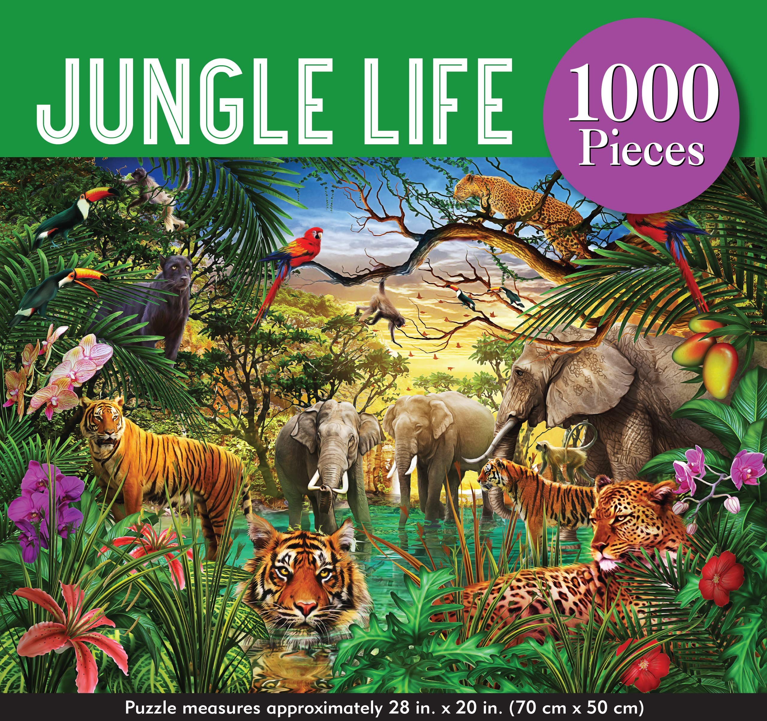 Jungle Life Puzzle 1000 Piece Poopsie S Gifts Toys