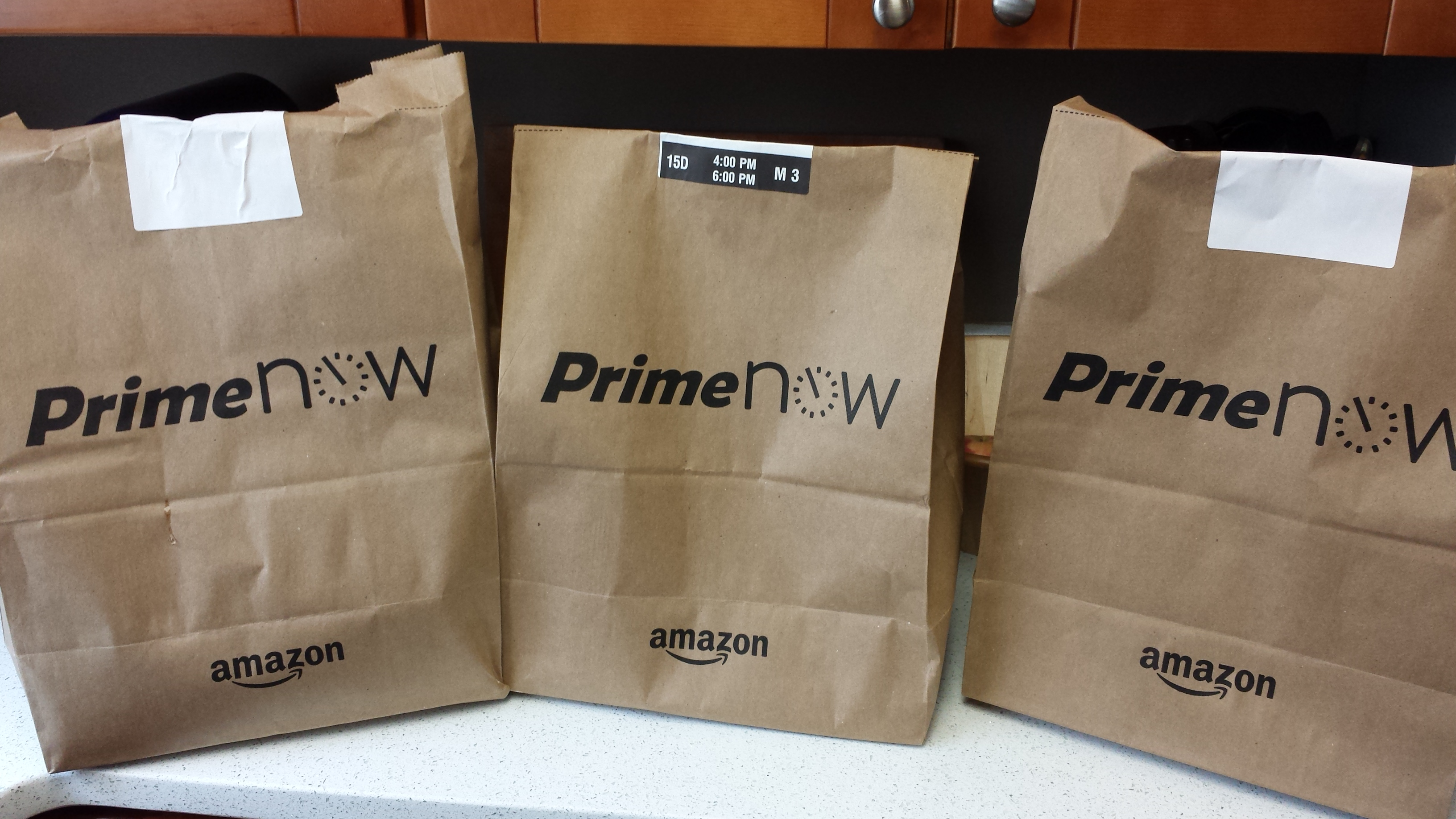 Amazon Grocery Prime Now Review Amazon Brings Me My Groceries
