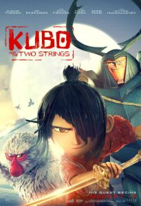 Kubo and the two strings 2016 poster