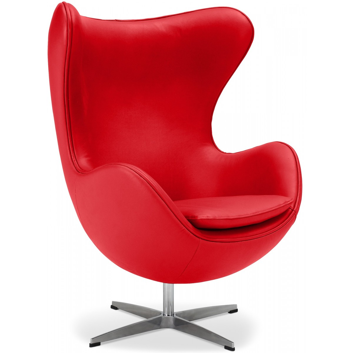 Fauteuils Pop Fauteuil Egg Chair Arne Jacobsen En Cuir Pop Design Fr