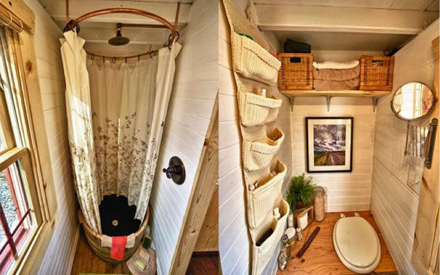 10 Space-Saving Ideas From an Itty-Bitty Home - space saving ideas for small homes