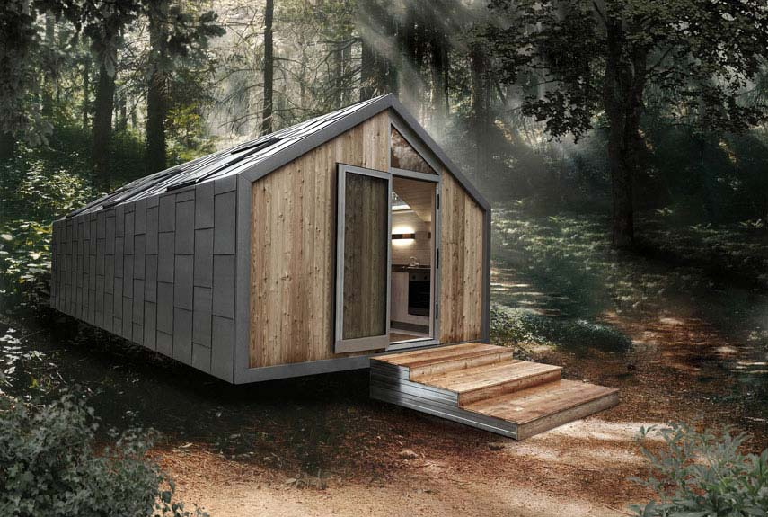 Small Green Homes - Small Eco Houses