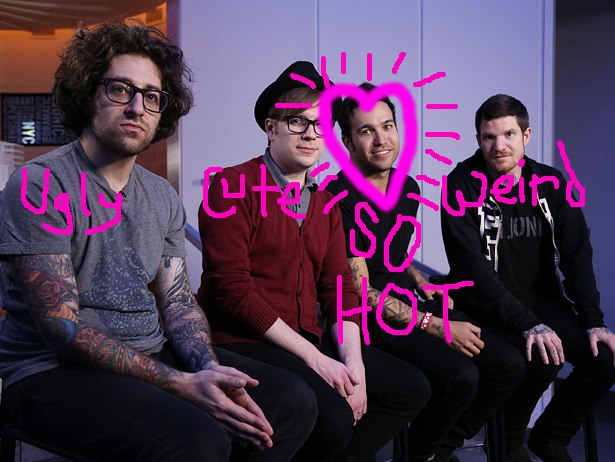 Fall Out Boy Wallpaper Mania Fall Out Boy Love A Makeover Popbabble