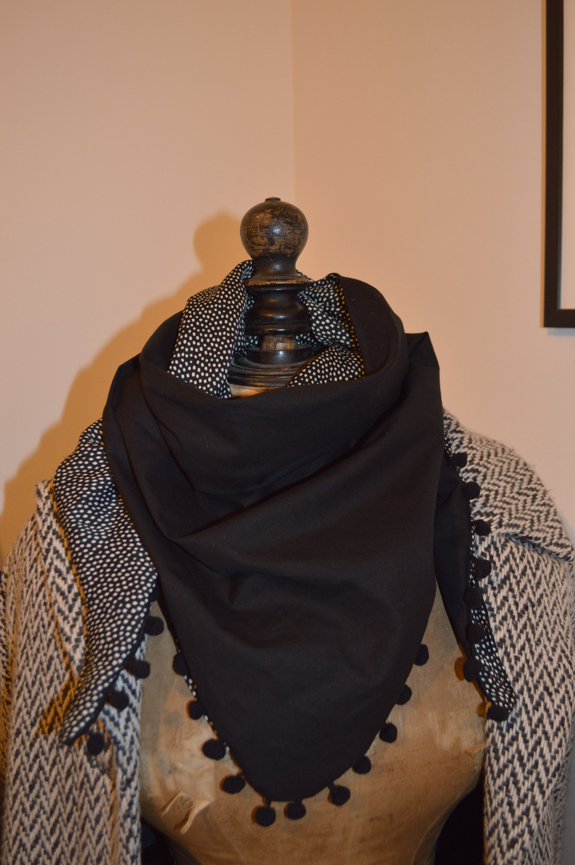 Table Chambre Enfant Foulard Triangle - Pop Couture