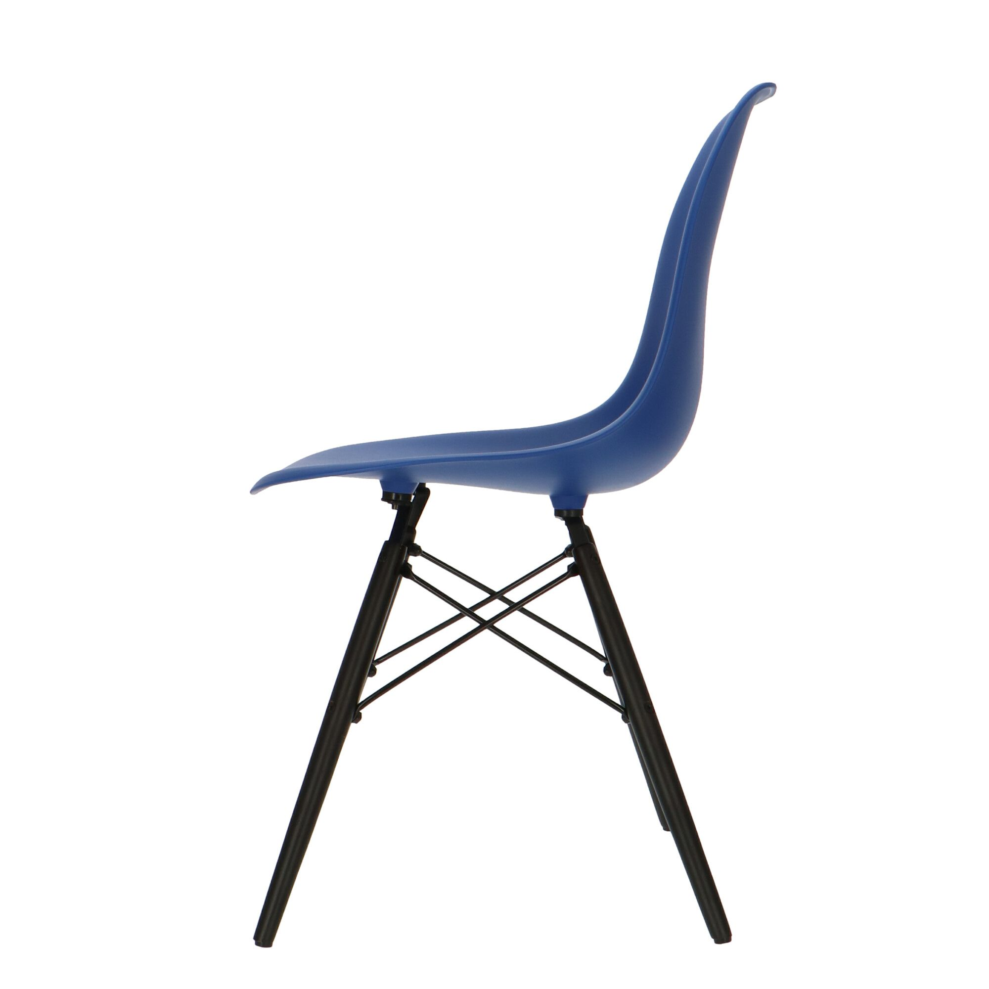 Eames Chair Base Eames Dsw Dark Base Dark Blue