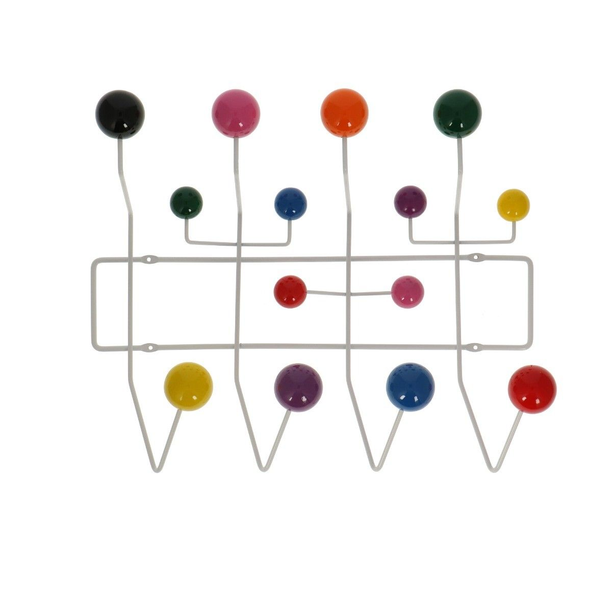 Eames Hang It All Colored Coat Rack Popfurniture Com