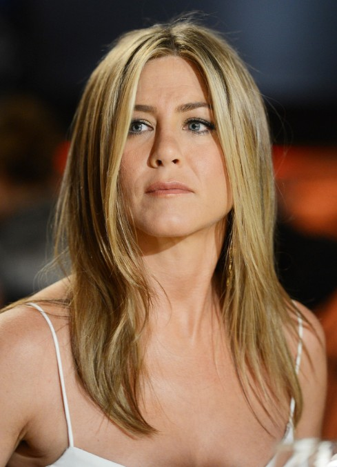 Pixie Cut Round Face Jennifer Aniston Easy Medium Hairstyle For Straight Hair