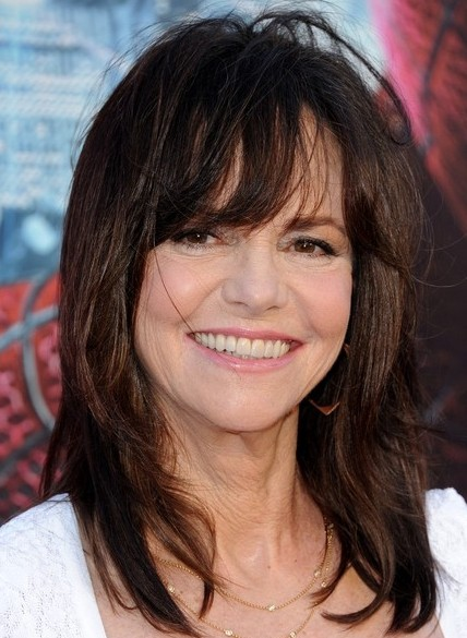 Cool Side Haircuts Sally Field Medium Straight Hairstyles 2013 Popular