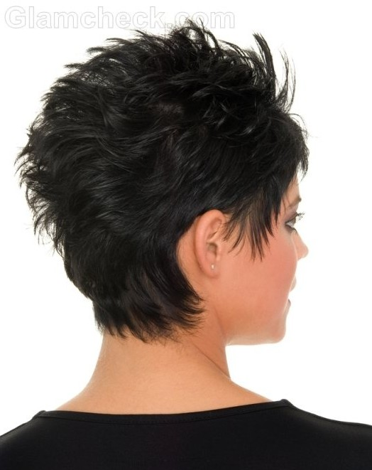 Hair Styling Spray Short Messy Hairstyles Black Hair Popular Haircuts