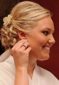 Short Wedding Hairstyles for 2014 - Blonde Wavy Hair ...