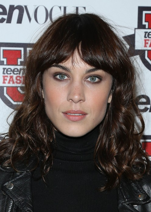 Curly Cute Hairstyles 2014 Alexa Chung Hairstyles Long Curly Hair Popular