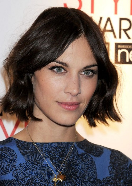 Layered Pixie Cut Alexa Chung Short Hairstyles Wavy Bob Popular Haircuts
