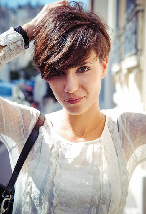 Hairstyles For Hair Cut In A Bob Cute Short Hairstyles With Bangs 2014 Popular Haircuts