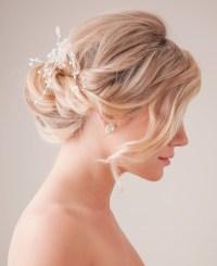 Bridal Updo Hairstyle Tutorial: Wedding Hairstyles Ideas ...