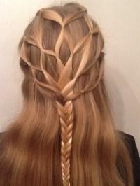 Cute Braid Ideas Long Hairstyles For Straight Hair Popular ...