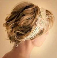 10 Pretty Wedding Updos for Short Hair - PoPular Haircuts