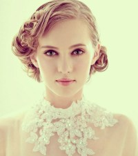 10 Pretty Wedding Updos for Short Hair - PoPular Haircuts