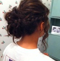 Hair Of Braided Updo Hairstyles By Hair Salon As Formal ...