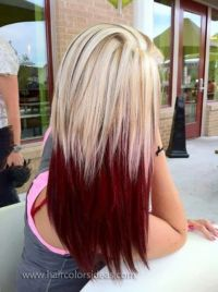 10 Two-Tone Hair Colour Ideas to Dye For! - PoPular Haircuts