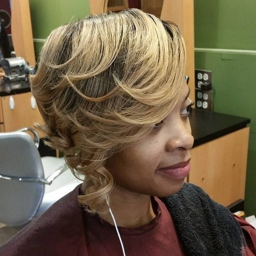 Brown To Blonde Balayage Short Straight Hair 25 Gorgeous African American Natural Hairstyles Popular