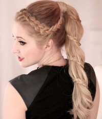 18 Cute Braided Ponytail Styles - PoPular Haircuts