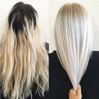 10 Hair Color Ideas for 2016 - 2017: Platinum Blonde Hair