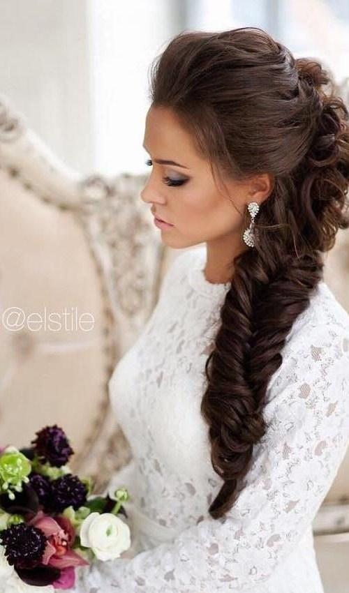 10 Pretty Braided Wedding Hairstyles - crazyforus