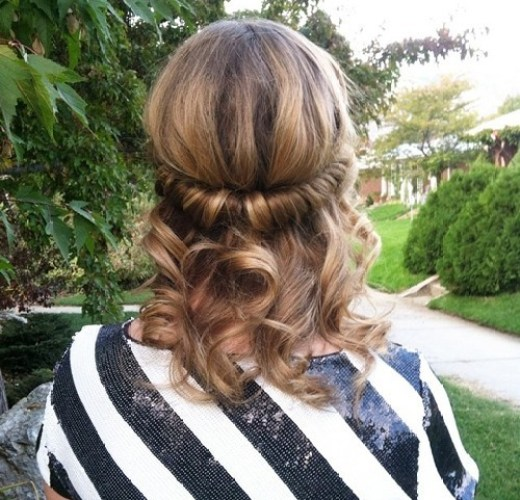 Quirky Hairstyles For Medium Length Hair : Elegant hairstyles for prom crazyforus