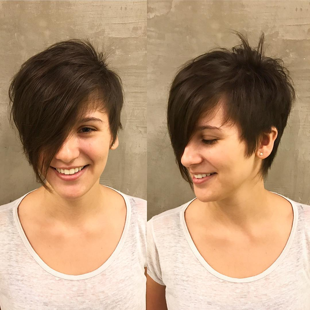 Cute Hairstyles Drawing 10 Best Short Hairstyles For Thick Hair In Fab New Color