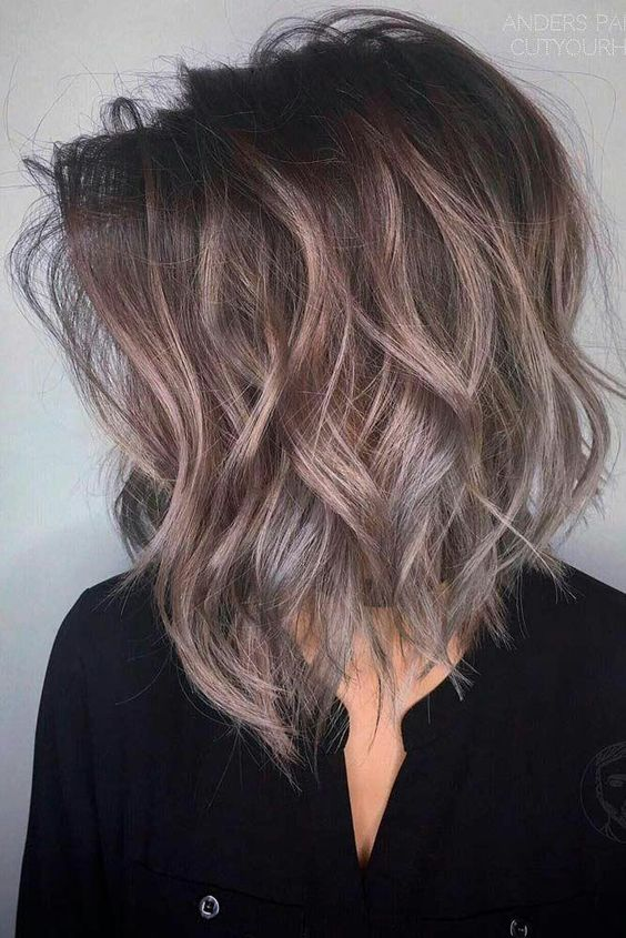 Dark To Blonde Balayage Hair 10 Trendy Medium Hairstyles Top Color Designs 2020