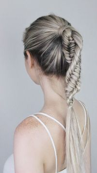 10 Ultra Ponytail Braided Hairstyles for Long Hair ...