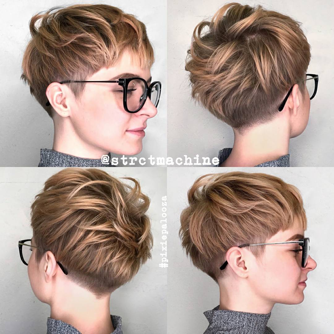 Haircuts Hairstyles 10 New Short Hairstyles For Thick Hair 2019