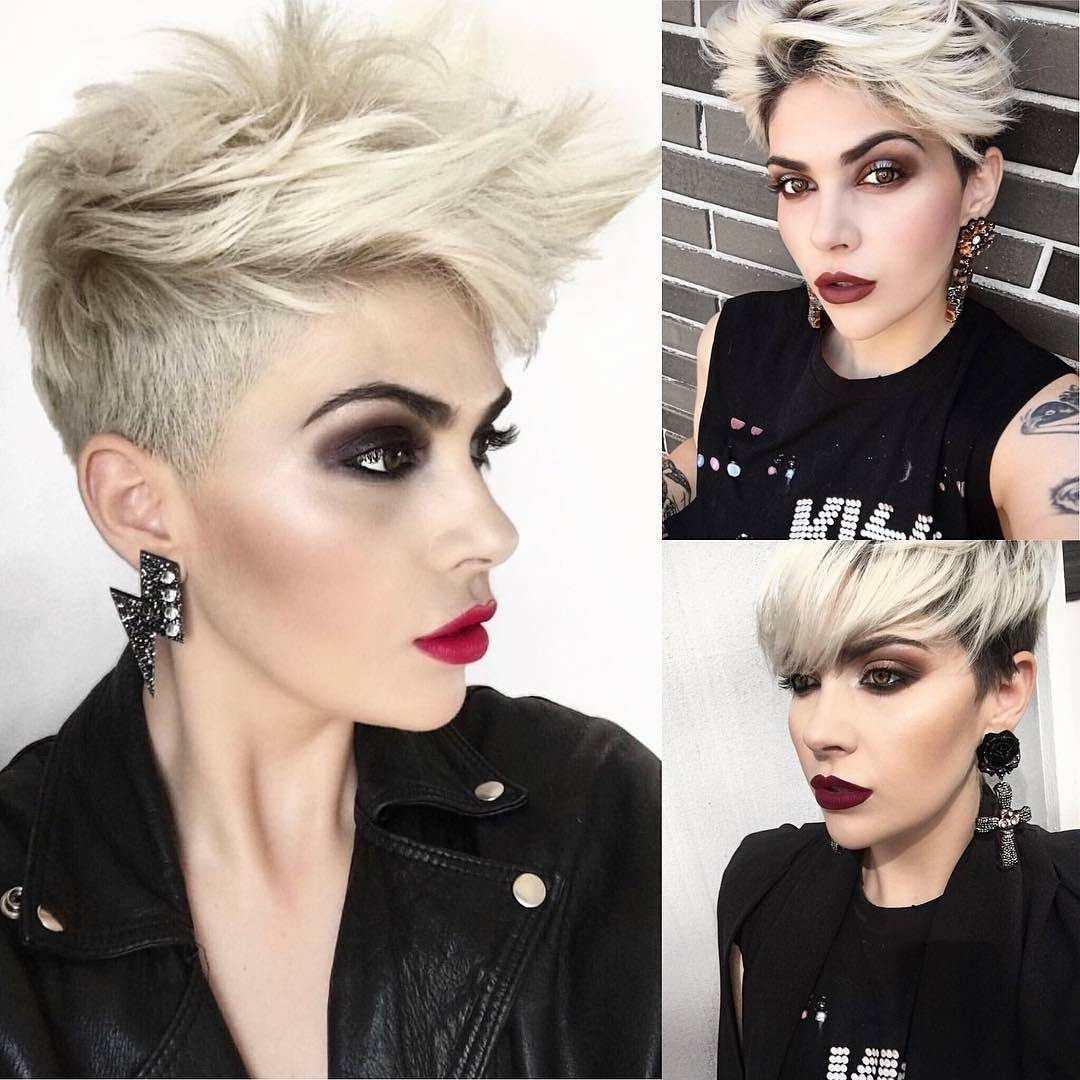 Coiffure Summer 2018 10 Daring Pixie Haircuts For Women Short Hairstyle And