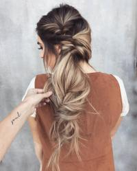 Messy Braid Hairstyles For Long Hair - HairStyles