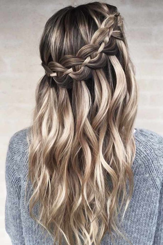 Effortless Long Hairstyles 10 Cute Braided Hairstyles For Women Girl Long Braided