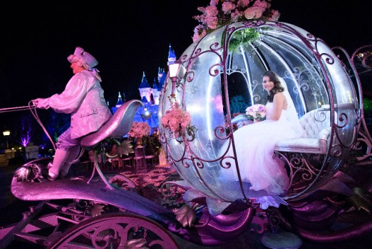 "FREEFORM SPECIALS - ""Disney Fairytale Weddings Special"" - Bachelor alumni Ben Higgins and Lauren Bushnell take you behind the scenes of some truly fabulous weddings in FreeformÕs ÒDisneyÕs Fairy Tale WeddingsÓ special, airing on SUNDAY, MAY 7, at 8:00 Ð 9:30 p.m. EDT. (Freeform/Richard Harbaugh) RUBY CARPO"