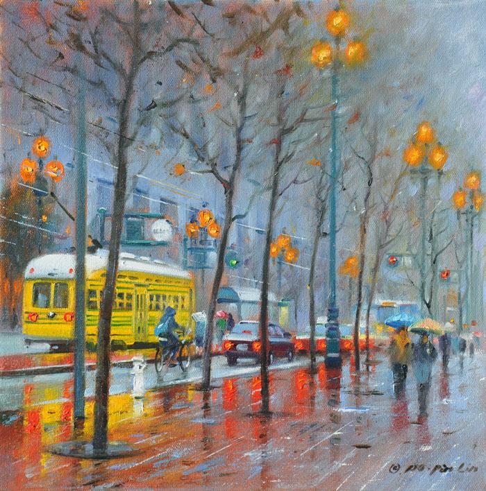 In the Rain, 12x12