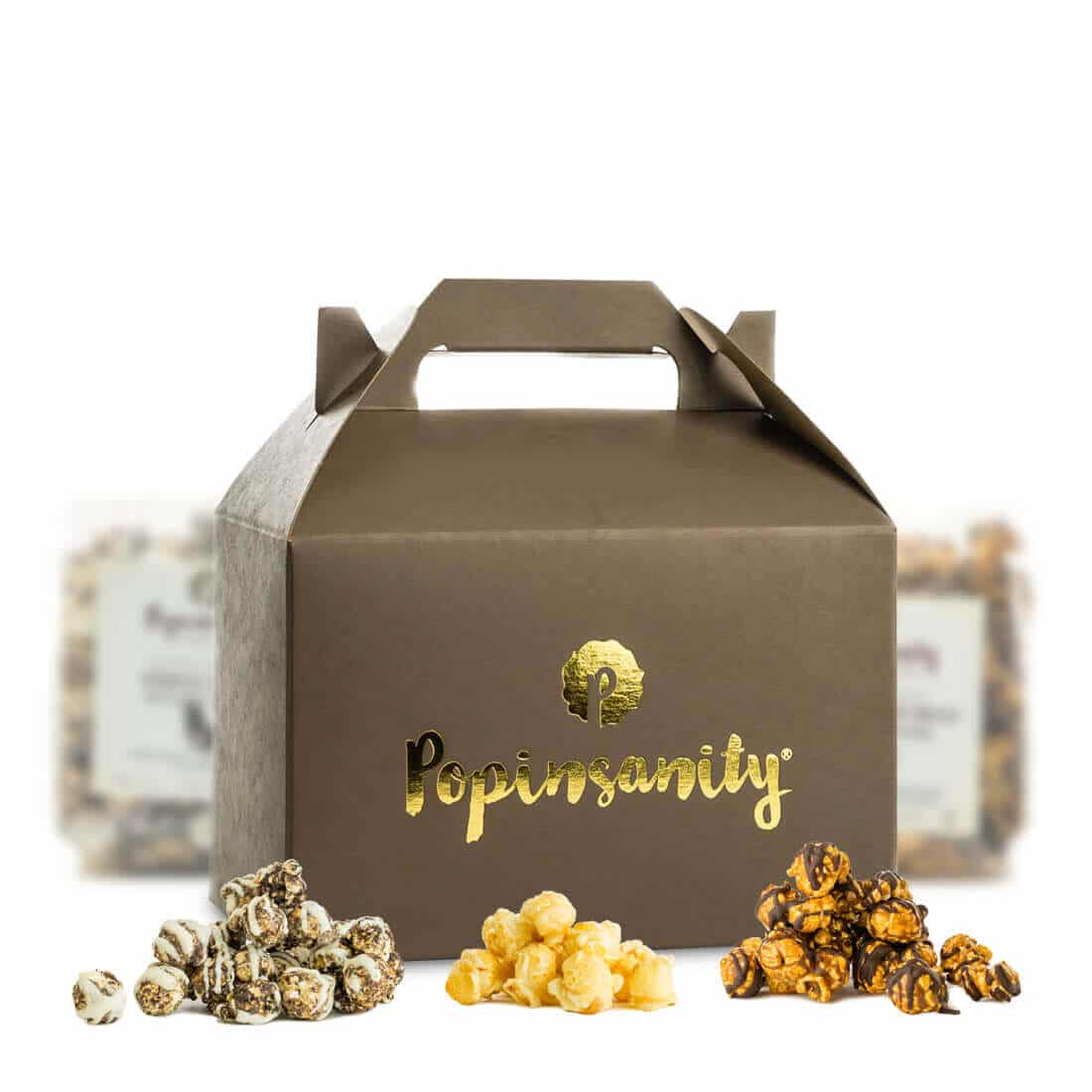 Gift Box 3 Flavor Gift Box Gourmet Popcorn