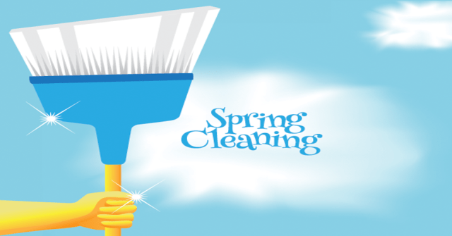 apartment spring cleaning tips