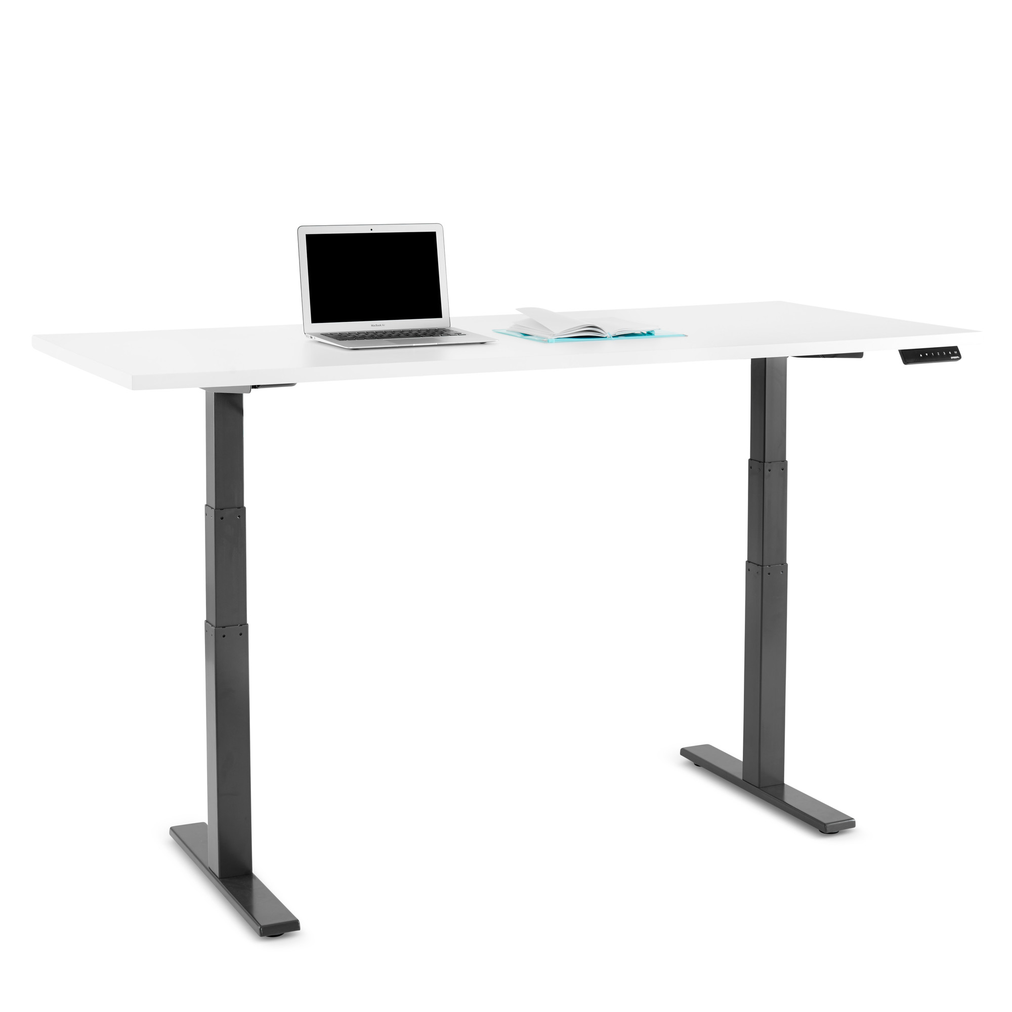 Adjustable Height Drafting Table Series L Adjustable Height Table Charcoal Legs Adjustable Height Desks Poppin
