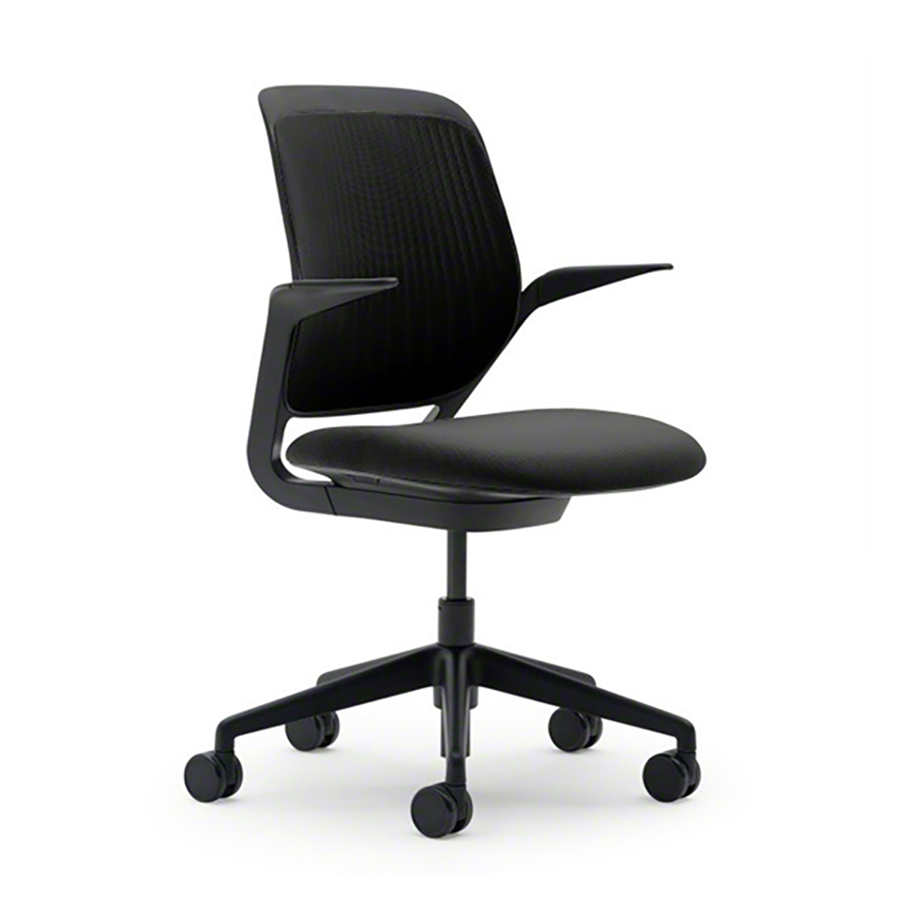 Desk Seat Black Cobi Desk Chair With Black Frame