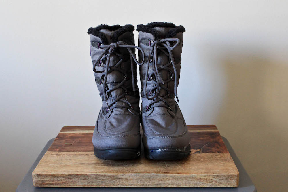 Kamik Brooklyn Snow Boots in a winter capsule wardrobe
