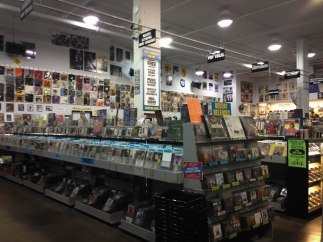 Christmastime in California Amoeba Music in Hollywood