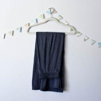 Travel Capsule Wardrobe Gray Maxi Skirt