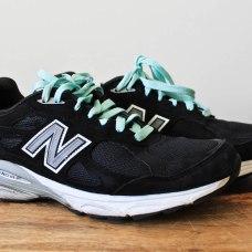 Travel Capsule Wardrobe New Balance 990s Running Shoes