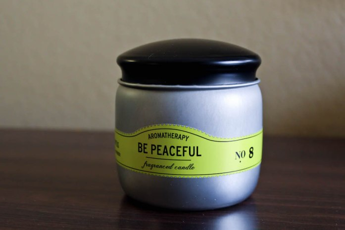 May Favorites Be Peaceful Candle