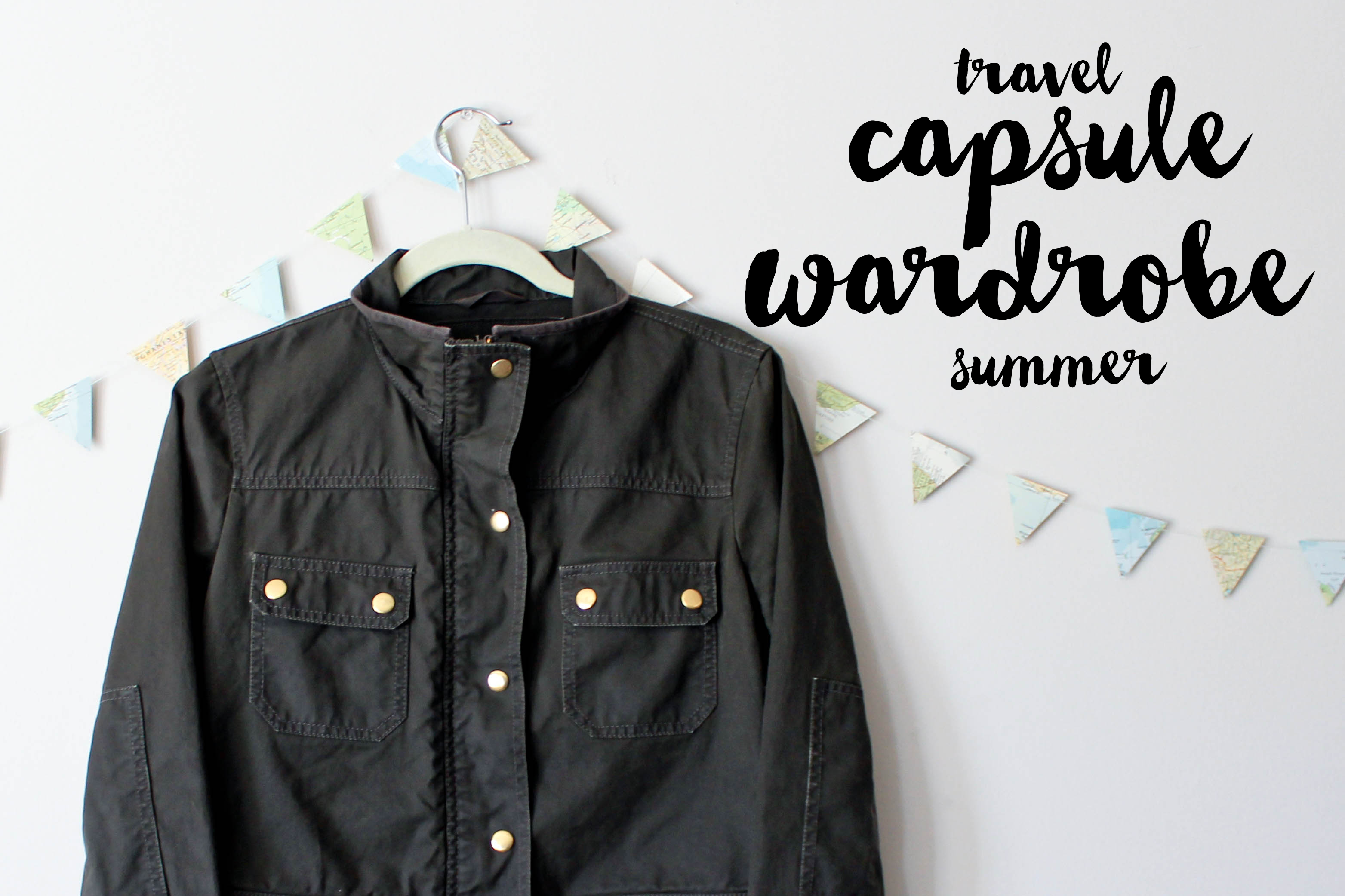Travel Summer Capsule Wardrobe